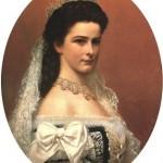 Официальный портрет императрицы Елизаветы в коронационном платье (художник Георг Рааб, 1867)