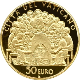 Ватикан, 50 евро, 2007