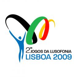 Логотип Спортивные игры португалоязычных стран 2009