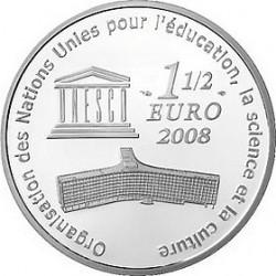 Франция, 1 1/2 евро, 2008, Большой каньон, реверс