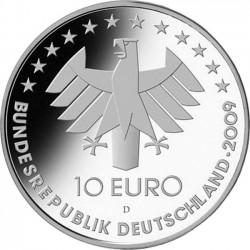 Пурмания 10 евро ILA-2009, реверс