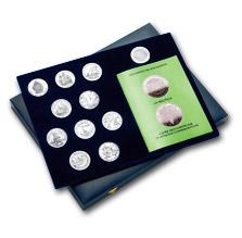 Набор 5-й Иберо-Американской серии монет, выпущенный Королевским монетным двором Испании