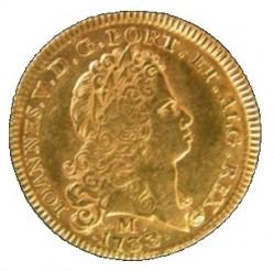 Пайса Жуана V чеканки 1722 года