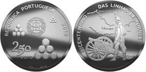 2.5 евро «200 лет линии Торреш-Ведраш»