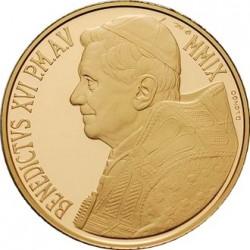 Ватикан, 20 евро, 2009, аверс
