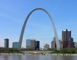 Арка в Сент-Луисе (Gateway Arch)