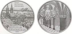 Австрия, 10 евро, «Аббатство Клостернойбург»