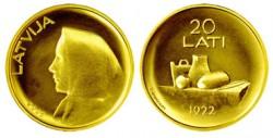 Латвия, 20 лат, «Монета Латвии»