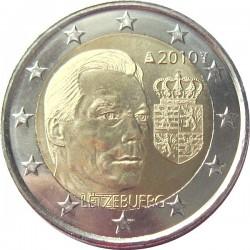 2 евро, Люксембург 2010, Герб Великого герцога Люксембурга