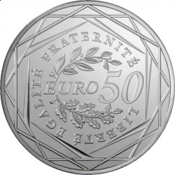 Франция 2010, 50 евро