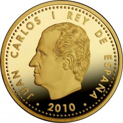 Испания, 2010, 200 евро, Гауди, аверс