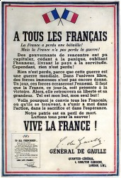 Воззвание де Голля «Ко всем французам», 1940