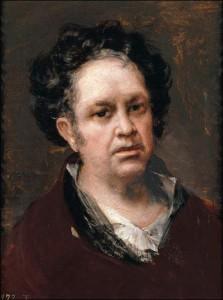 Франсиско де Гойя. Автопортрет (1815, Музей Прадо, Мадрид)