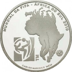 Португалия, 2,5 евро, 2010, ЧП по футболу, аверс