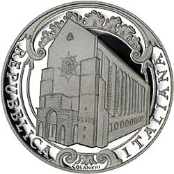 Италияю, 5 евро, 2010, Санта-Кьяра, аверс