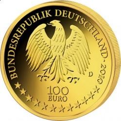 Германия, 100 евро, 2010, аверс
