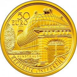 50 евро, Австрия (200 лет Universalmuseum Joanneum в Граце)