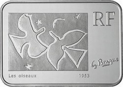 Франция, 10 евро, Жорж Брак