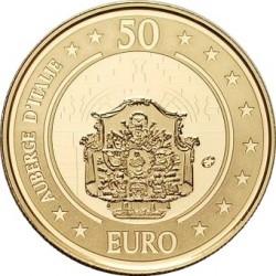 Malta 2010. 50 euro. Auberge d'Italie
