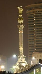 Памятник Х.Колумбу в Барселоне