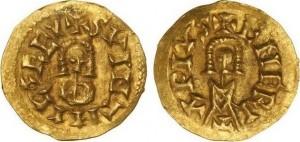 Золотой триенс Свинтилы
