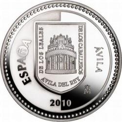 5 евро, Испанские столицы, Авила