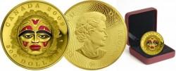 Канада, 300 долларов, «Индейская летняя лунная маска»