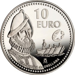 10 евро Франсиско де Орельяна (10 euro Francisco de Orellana)