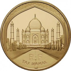 France 2010 50 euro Taj-Mahal rev