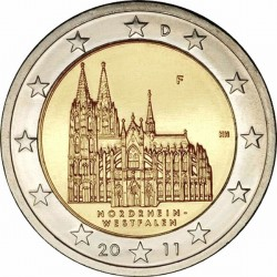 Германия, 2 евро, 2011
