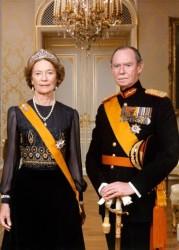 Великий герцог Жан с супругой