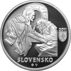 900th anniversary Zoborska list, 10 euro