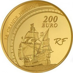 France, 2011 - 200 euro, Jacques Cartier