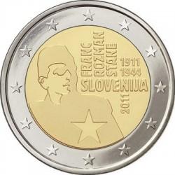 2 euro, Slovenia (Franc Rozman-Stane)