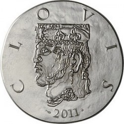 France 2011. 10 euro. Clovis I
