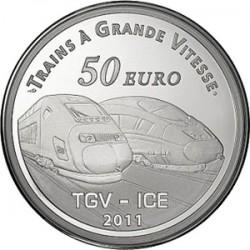 France. 2011. 50 euro. La Gare de Metz