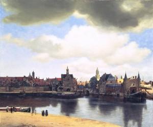 «Вид Дельфта» (Ян Вермеер, 1660-1661 гг., Королевская галерея Маурицхёйс, Гаага)