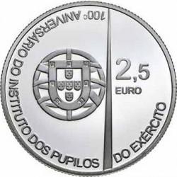 2.5 евро, Португалия (100 лет Военному института армейских курсантов)