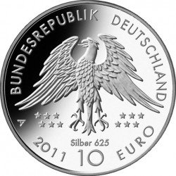 10 euro, Germany. Archaeopteryx