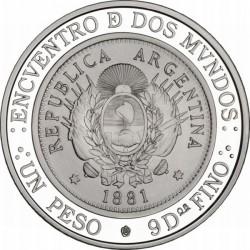 Argentina, 25 peso, iberoamericana