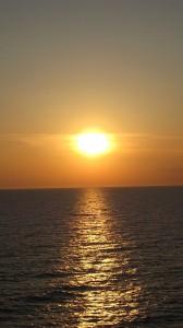 Закат на Балтике