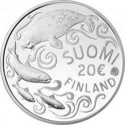 Finland 20 euro, 2011. Protecting the Baltic Sea