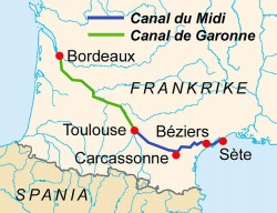 Canal-Midi-map