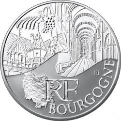 10 евро. Регионы Франции - Памятники. Бургундия