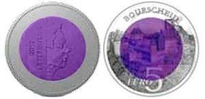 5 евро «Замок Буршейд»