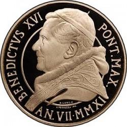 Монеты Ватикана серии «Восстановление Капеллы Паолина» 2011 года. 20 евро