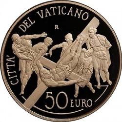 Монеты Ватикана серии «Восстановление Капеллы Паолина» 2011 года. 50 евро