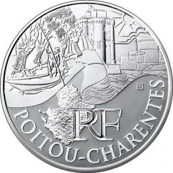 Франция, 10 евро (Пуату — Шаранта)