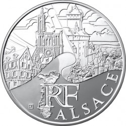 Франция, 10 евро (Эльзас)