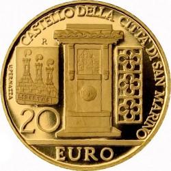 "Сан-Марино, 2011 (""Сокровища Сан-Марино""), 20 евро"